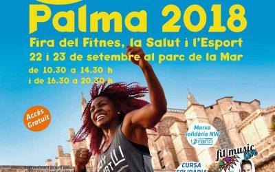 Nordic Walking Palma participa a la fira FitSalut 2018 al Parc de la Mar (22 i 23 de setembre)