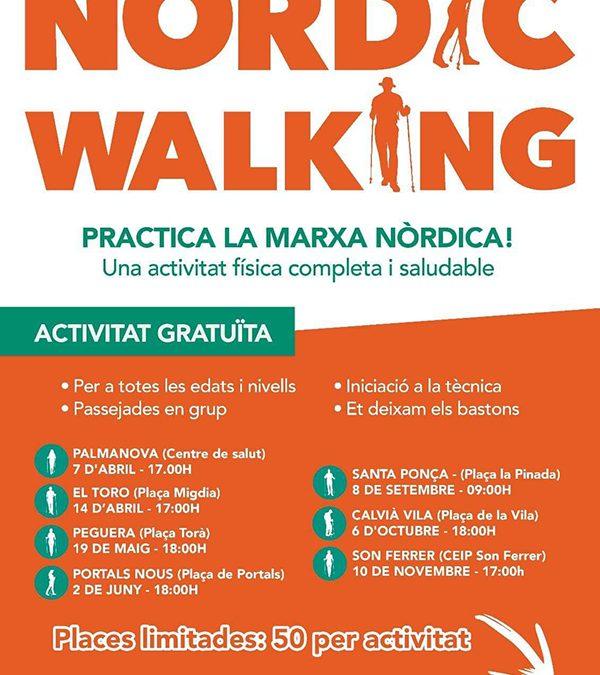 Nordic Walking Palma a les festes del Rei en Jaume 2018. Santa Ponça