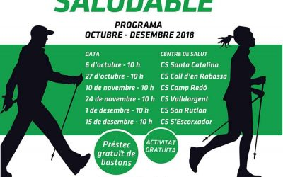 Activitat gratuïta d'Iniciació en el Centre de Salut de Son Rutlan-Aragó (Palma)