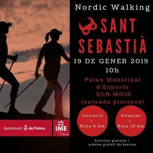 Marxa Nordica Sant Sebastià 2019
