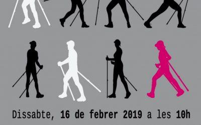 Iniciació gratuïta Nordic Walkg a Montuïri. Dissabte, 16 de febrer a les 10h