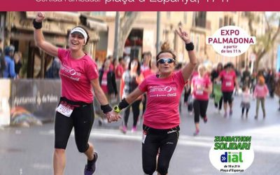 IV Cursa popular Palmadona 2019. Dissabte, 13 d'abril, a la plaça d'Espanya, 17:00h