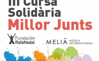 NWPALMA participa a la Cursa Solidària Millor Junts (Centre Rafa Nadal). Dissabte 6 a les 10:30h.