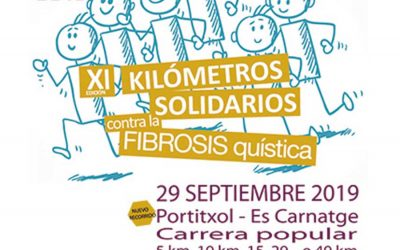 NWPALMA participa a la XI edició de Kilómetres solidaris contra la Fibrosis Quística.