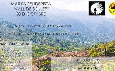 NWPalma participa a la Marxa per la Vall de Sóller. Diumenge 20 de novembre.