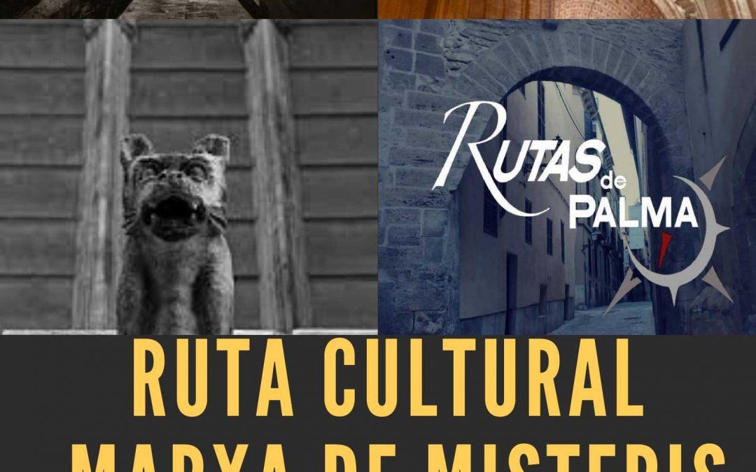 Ruta Cultural: Marxa de Misteris. Divendres 25 d'octubre.