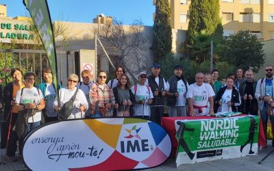 Nordic Walking Saludable al Centre de Salut Son Cladera 26/10/19