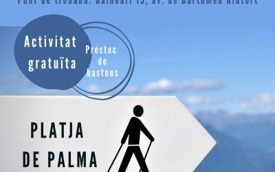 Nordic Walking a la Platja de Palma. Diumenge 15 de desembre a les 10:30h