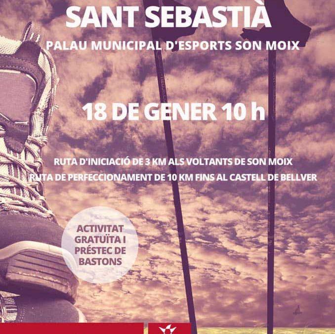 NWPalma participa a l'activitat NW Sant Sebastià 2020. Dissabte 18 a les 10h a Son Moix