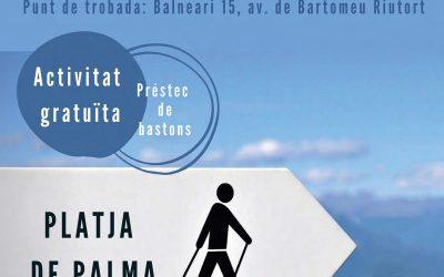 Nordic Walking a la Platja de Palma. Iniciació gratuïta + ruta. Diumenge 23 de febrer