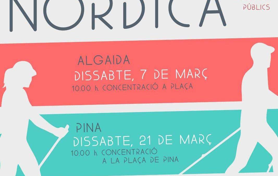 Activitat gratuïta d'Iniciació + passejada a Algaida. Dissabte 7 de març a les 10:00h.