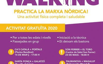 Iniciación gratuIta + ruta pot Cas Catalá-Bendinat. Sábado 14 a les 17h.