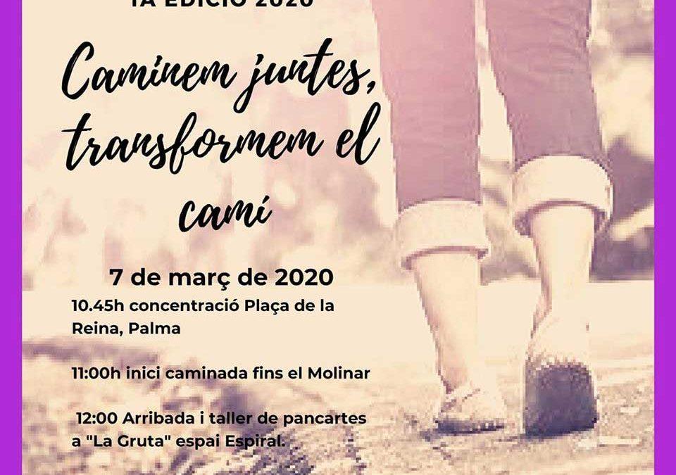 NWPalma participa a la Marxa del Dia de la Dona. Dissabte 7 de març