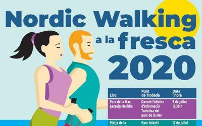 Iniciación gratuita al Nordic Walking. NW a la Fresca. Viernes 2 de octubre