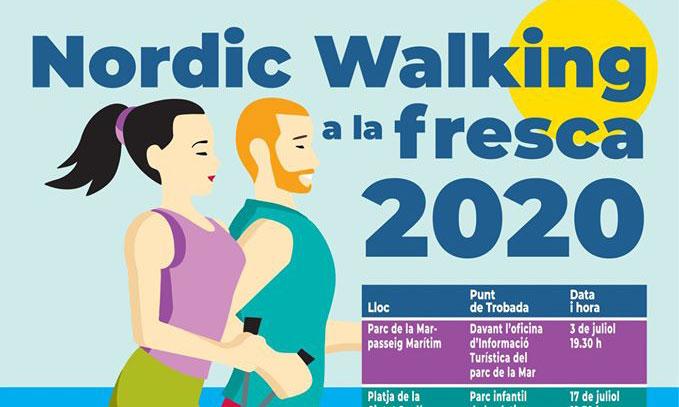 Iniciació gratuïta al Nordic Walking. NW a la Fresca. Divendres 2 d'octubre