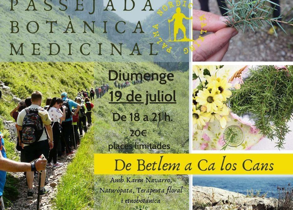 Passejada Botànica. Diumenge 19 de Juliol. Colònia de Sant Pere