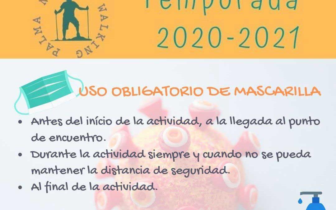 Instrucciones para el inicio del curso 2020-2021
