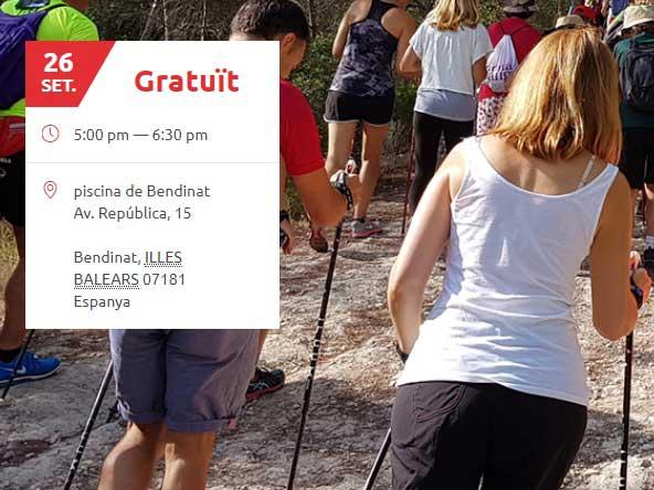 Nova temporada d'Iniciacions + passejades a Calvià (activitat gratuïta). 26 de Setembre