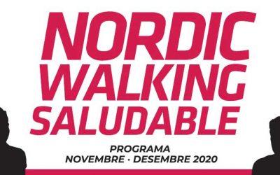 Nordic Walking Saludable. Iniciación + ruta. Sábado 7 de noviembre. Plaza S'Escorxador.
