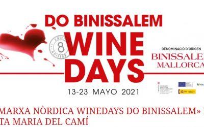 Ruta Wine Days 2021. Sábado 22 de mayo en Santa Maria